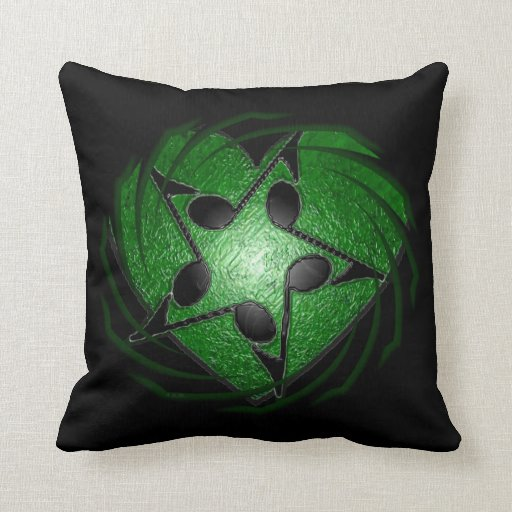 Music Lovers! Throw Pillows