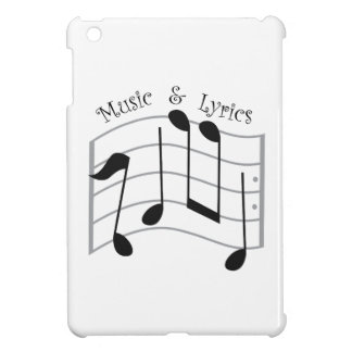 Music & Lyrics iPad Mini Cases