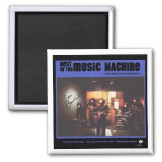 Music Machine: Best of the Music Machine 2 Inch Square Magnet