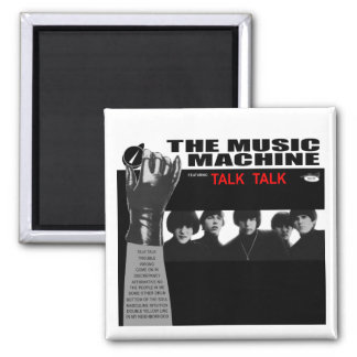 Music Machine: TurnOn 2 Inch Square Magnet