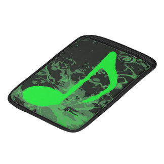 Music Madness Green Note iPad Sleeve