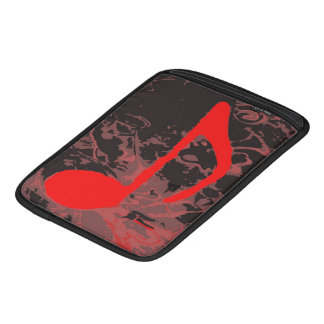 Music Madness Red Note iPad Sleeve