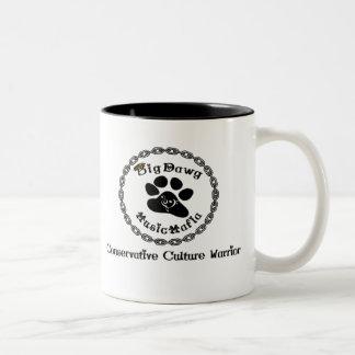 Music Mafia Gear Two-Tone Coffee Mug