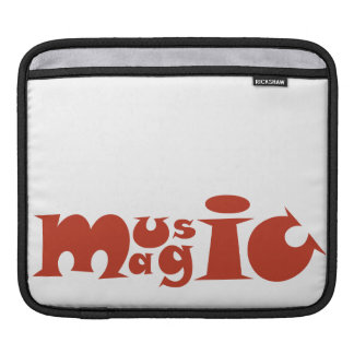 Music Magic - seventies style Sleeve For iPads