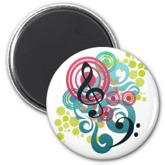 Music Refrigerator Magnets