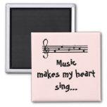 Music -magnet fridge magnets