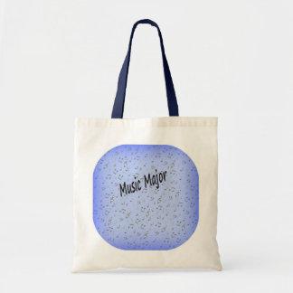 Music Major Canvas Bag