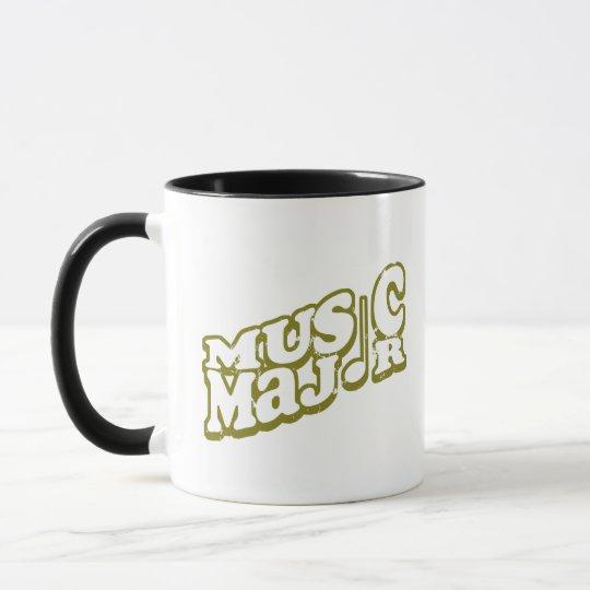 Music Major Bronze - Customized Mug
