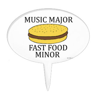 Music Major Cake Toppers