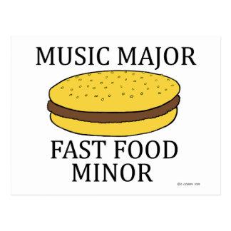 Music Major Postcard