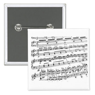 Music Major/Student/Teacher 2 Inch Square Button