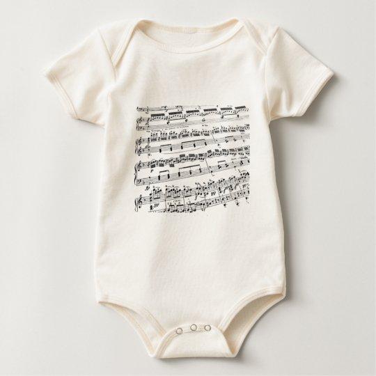 Music Major/Student/Teacher Baby Bodysuit