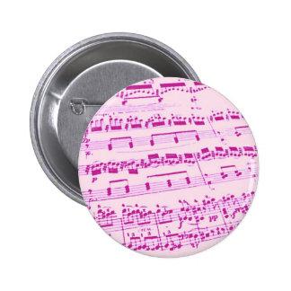 Music Major/Student/Teacher 2 Inch Round Button