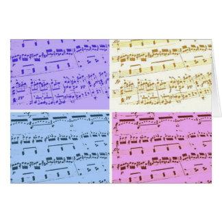 Music Major/Student/Teacher Card