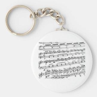 Music Major/Student/Teacher Keychain