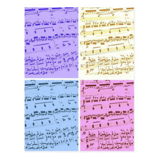 Music Major/Student/Teacher Postcard