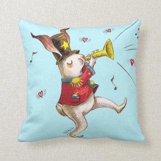 Music maker! throw pillow
