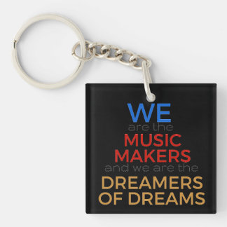 Music Makers Keychain
