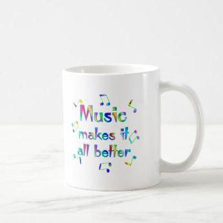 Music Makes it Better Coffee Mug