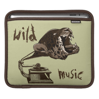 Music makes me wild sleeve for iPads
