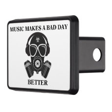 Music Makes My Day Hitch Cover