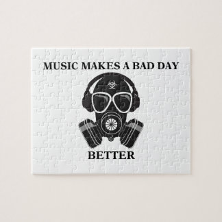 Music Makes My Day Jigsaw Puzzle