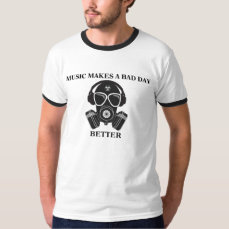 Music Makes My Day T-Shirt