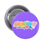 Music Makes My Heart Sing Buttons