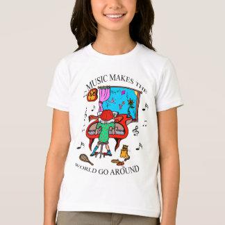 MUSIC MAKES THE WORLD GO AROUND T-Shirt