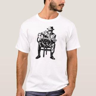 music man blues guitar tshirt