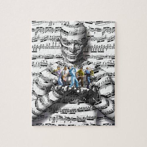 Music Man Jigsaw Puzzle