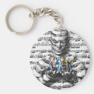 Music Man Keychain