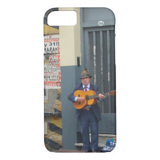 Music Man on Street in Buenos Aires iPhone 8/7 Case