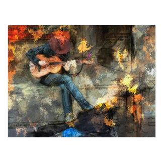 Music Man Postcard