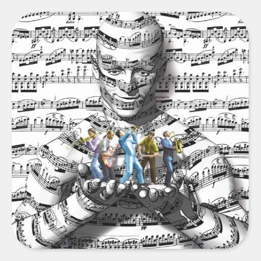 Music Man Stickers