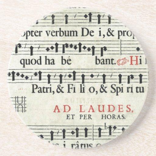 Music Manuscript Coasters
