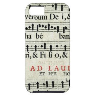 Music Manuscript iPhone SE/5/5s Case