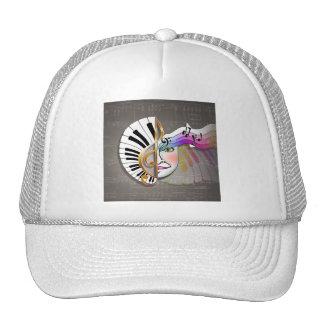 Music Mask Hats & Caps