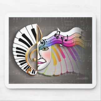 Music Mask MOUSE PAD