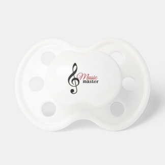 Music Master Baby Pacifiers