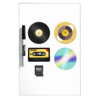 Music Media Dry-Erase Boards