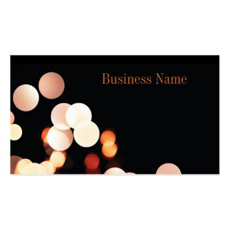 Music Media Elegant Modern Business Card