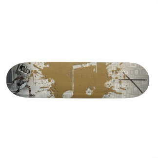 Music Mess on Isle 5 Skateboard