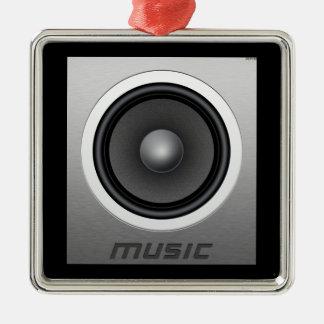 Music Metal Ornament