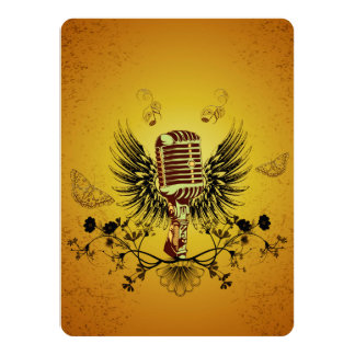 Music, microphone card