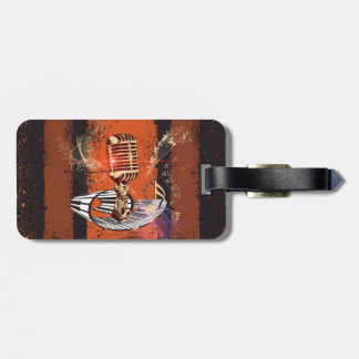 Music, Microphone Bag Tags