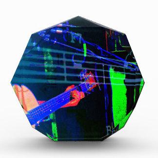 Music Mike- Neon Version Acrylic Award