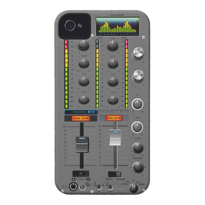 Music Mixer iPhone  Case