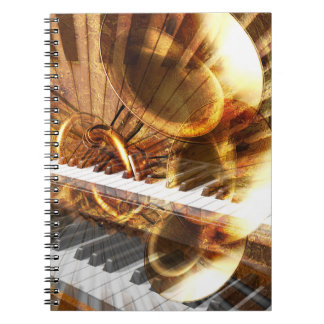 Music Montage Notebook