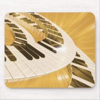 music mouse mat